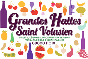 Les Grandes Halles Saint-Volusien