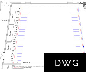 Scène DWG