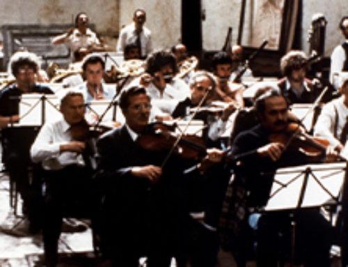 Répétition d'orchestre de Federico Fellini